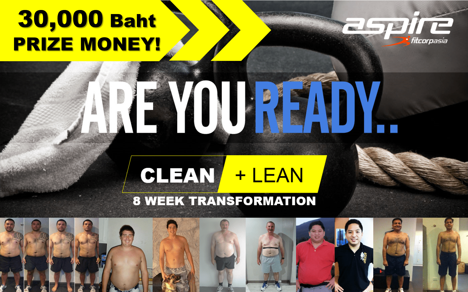 Clean Lean 8 Week - Personal Trainer Bangkok