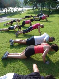 Bangkok fitness bootcamp